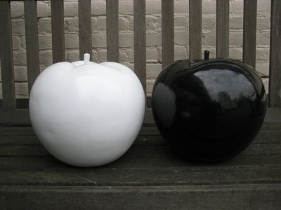 appel wit  polyester28cm