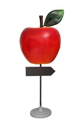 appel met aanwijs- bord-polyester- €329