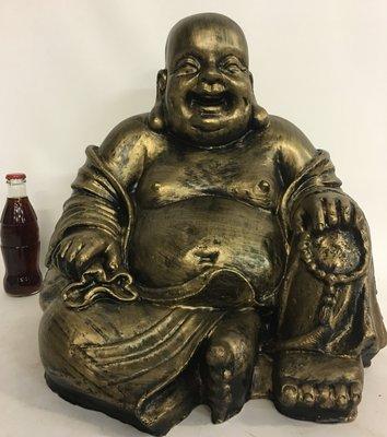boeddha beeld gebronsd  43cm