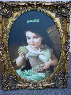 Schilderij Olieverf 145cm Portret