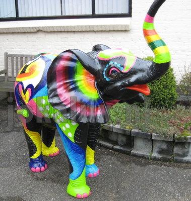 Olifant  190cm kunst olifant Fantje