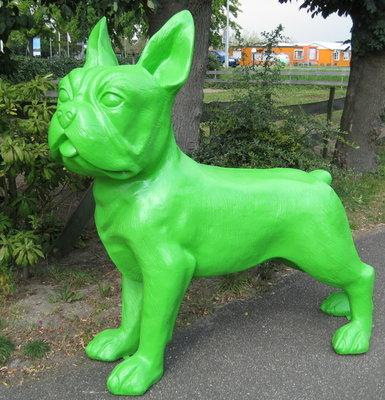 Franse Bulldog Kunst polyester