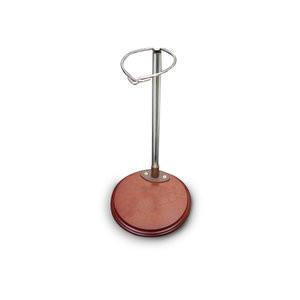 Houten poppen standaard - 21cm set 2 stuks