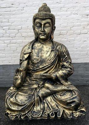 Boeddha  XXL 125cm gebronsd