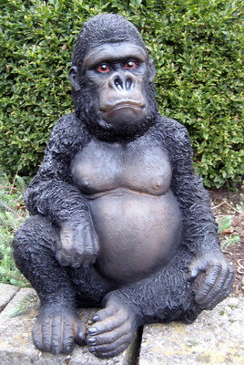 Aap baby Gorilla Zittend 40cm -Junglebook