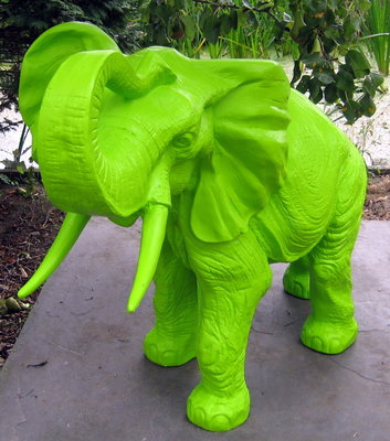 olifant polyester beeld 85cm polyester
