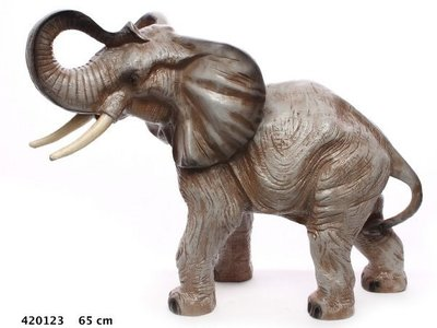 olifant staand 85 cm  polyester
