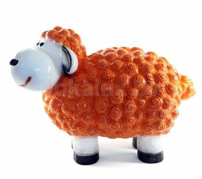 Wollie  schaap - medium - oranje