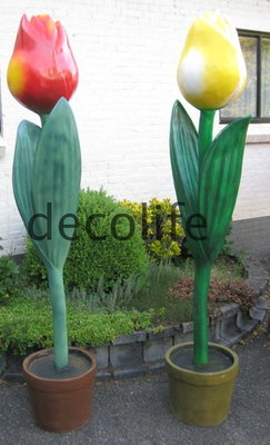 TULP XXL in pot  POLYESTER €197,50