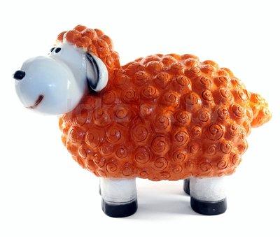 Wollie  schaap - groot - oranje