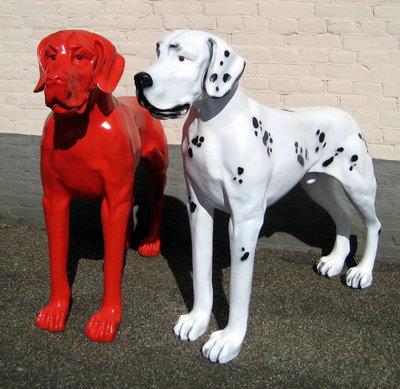 Duits -Deense dog -polyester-beeld