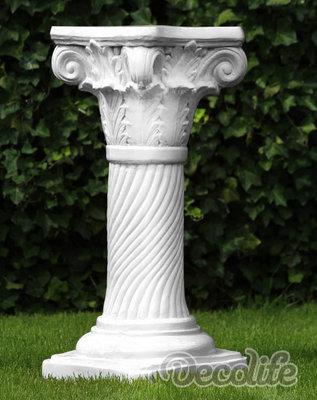 zuil -kolom-sokkel-wit - 82cm