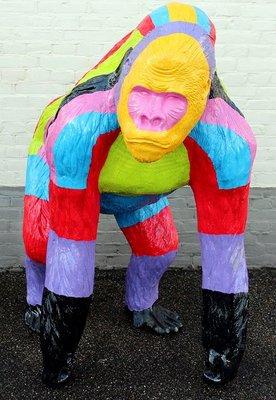 Aap Gorilla   Bokito kunst beeld Bohemian design