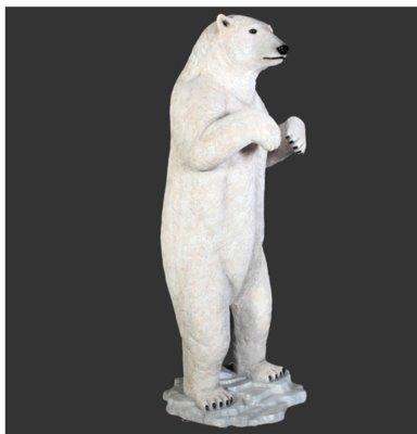 IJsbeer polyester staand 219 cm