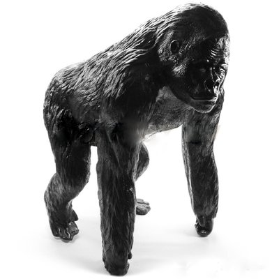 Aap Gorilla   Bokito polyester beeld zwart