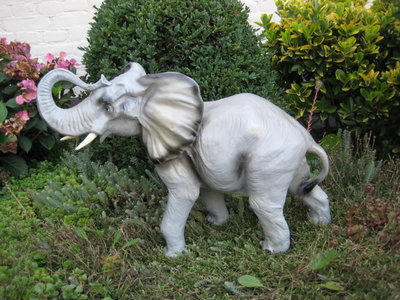 Olifant Beeld Polyester 60cm