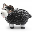 Wollie  ram-schaap - groot - zwart