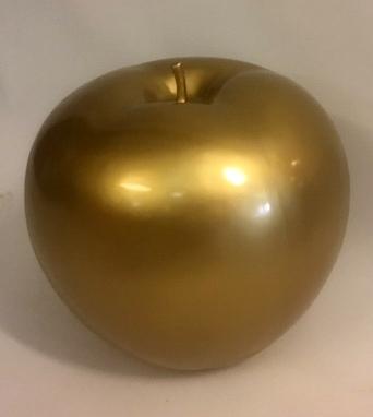 Appel polyester 45cm goud
