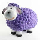 Wollie  schaap - medium - paars