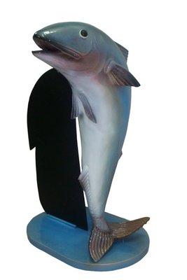 Horeca reclame - vis met menubord