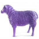 schaap-kunst-beeld 80cm paars