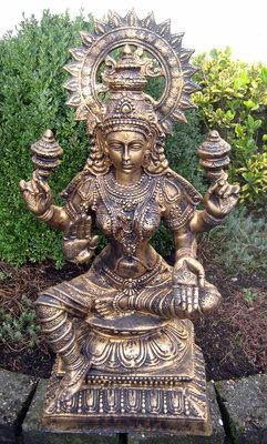 Lakshmi - Laxmi   polyester gebronsd