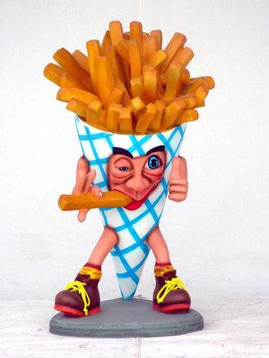 Frietzak polyester patat