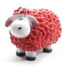 Wollie  schaap - rood