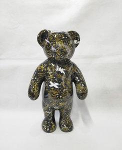 beer teddy polyresin beeld street design art