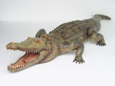 Krokodil crocodile polyester decoratie decolife dé
