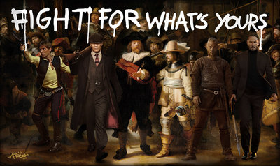 :  fight for what's yours