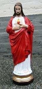 beeld Jezus-bloedend-hart-kunsthars