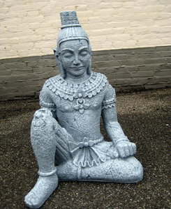 Anchor Boeddha beeld 70cm betonlook