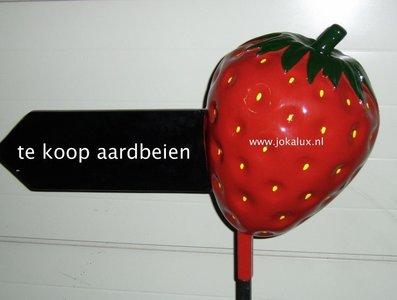aardbei-polyester-stoep reclame