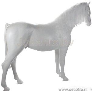 paard wit kunstmanen en staart 420341