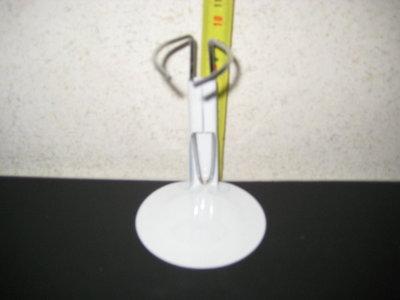 Poppenstandaard Metaal 8cm set van 6 stuks