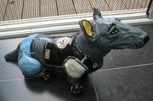 BullTerrier kunst werk Stoere Harry