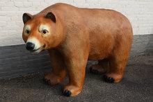 beer staand beeld polyester